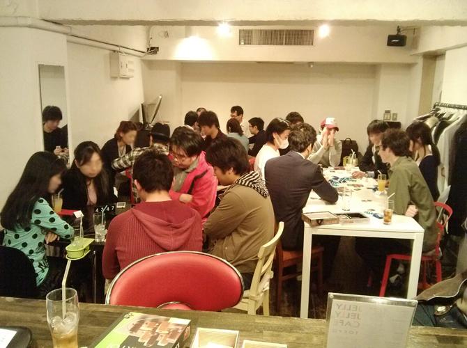 3/30に開催したボードゲームカフェの様子