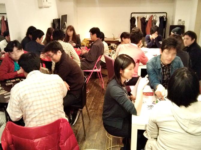 4/20に開催したボードゲームカフェの様子