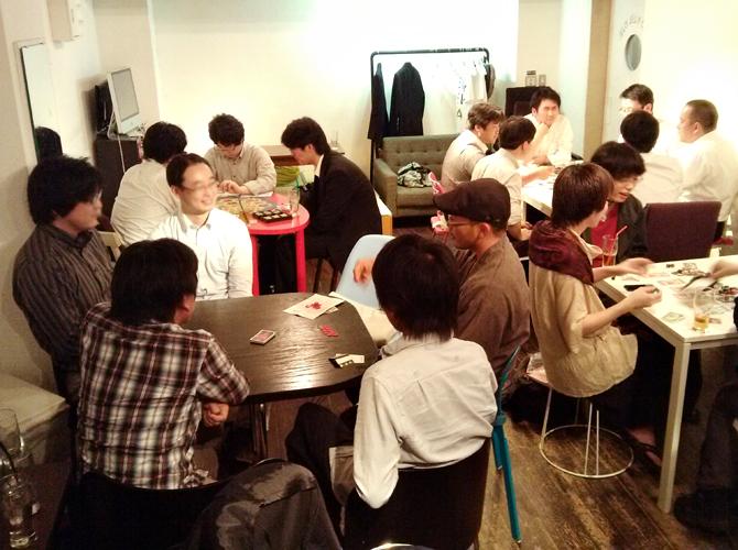 5/30に開催したボードゲームカフェの様子
