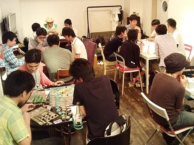 6/15に開催したボードゲームカフェの様子