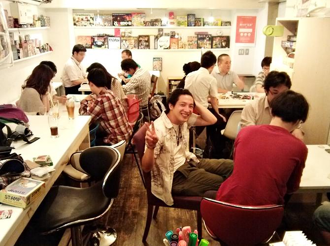 7/12に開催したボードゲームカフェの様子