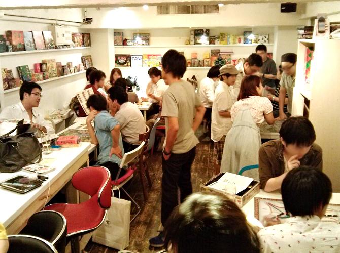 9/12に開催したボードゲームカフェの様子