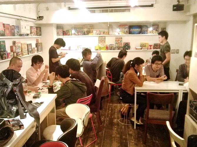 9/29に開催したボードゲームカフェの様子
