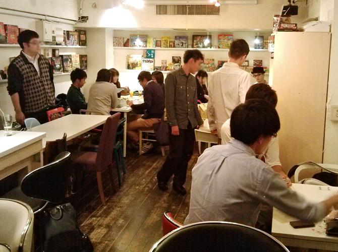 10/17に開催したボードゲームカフェの様子