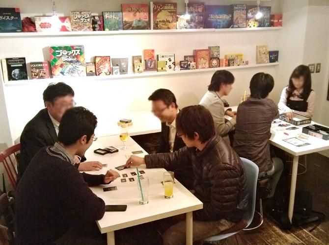 11/14に開催したボードゲームカフェの様子