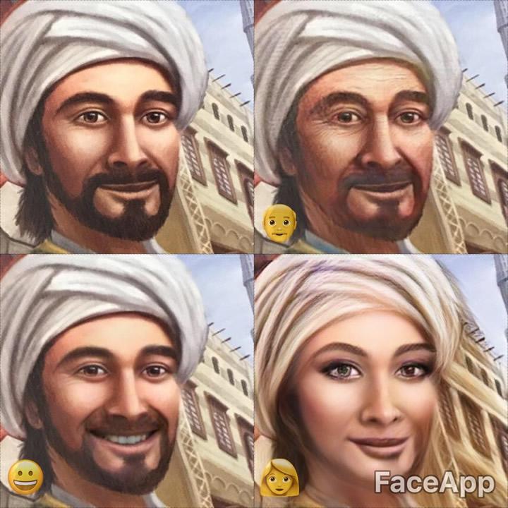 顔をムリヤリ笑わせるアプリ「FaceApp」でボードゲームの箱を撮ってみた