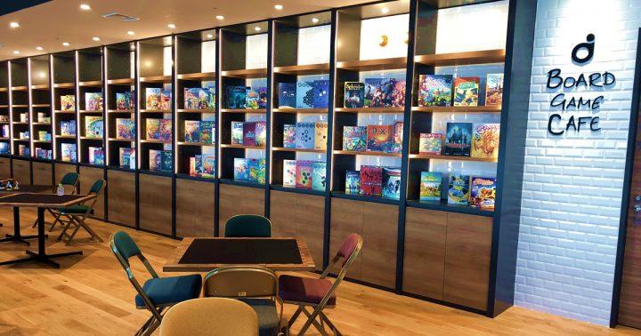 ディライトワークスさん社内に従業員向けのボードゲームカフェを新設いたしました!