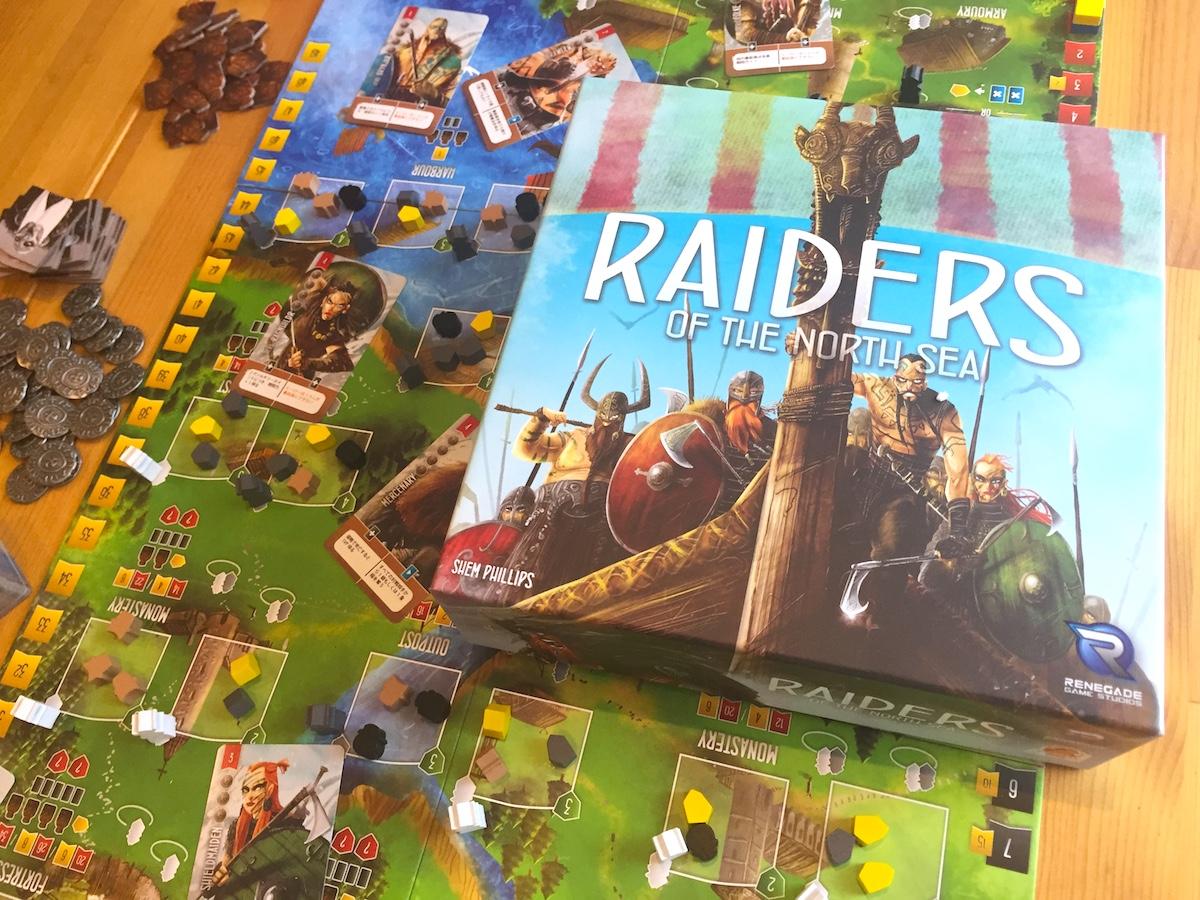 川崎 平日 重量級 ボードゲーム 北海の侵略者 RAIDERS OF THE NORTH SEA