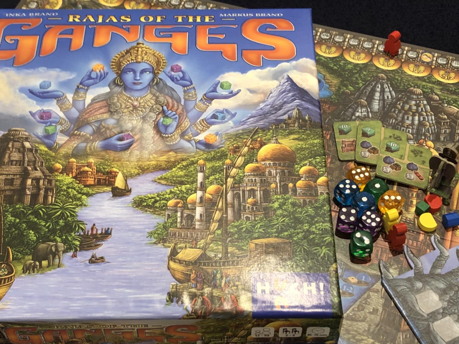 川崎 平日 重量級 ボードゲーム ガンジスの藩王 Rajas of the Ganges