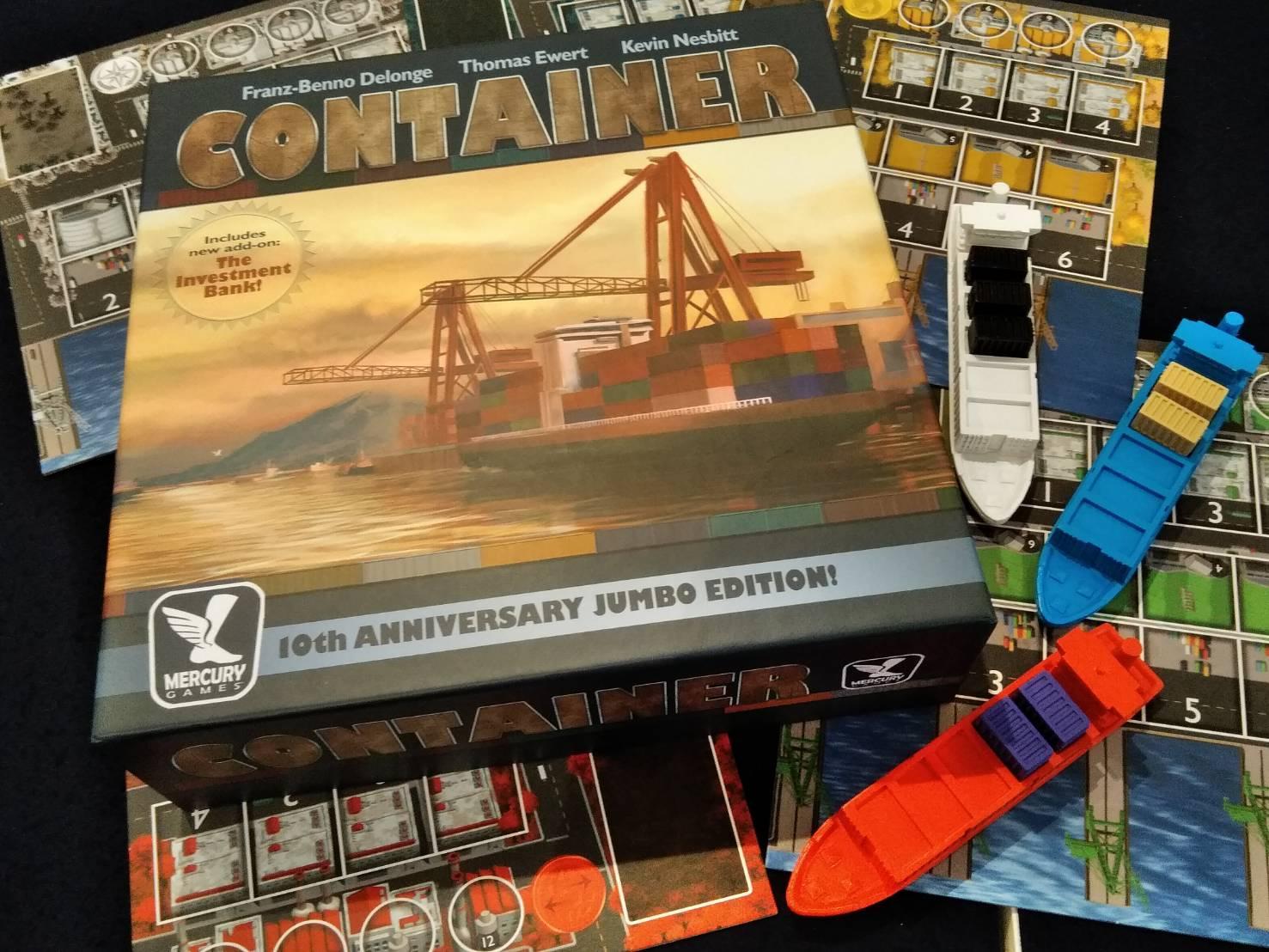 川崎 平日 重量級 ボードゲーム コンテナ CONTAINER