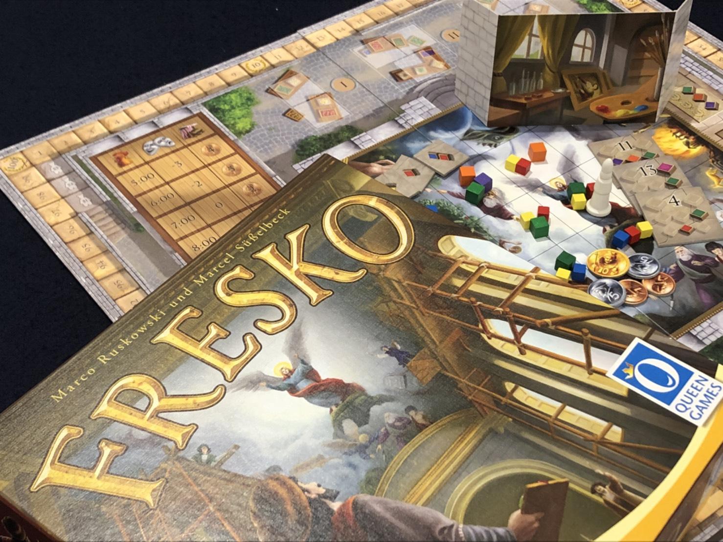 川崎 平日 重量級 ボードゲーム FRESKO フレスコ