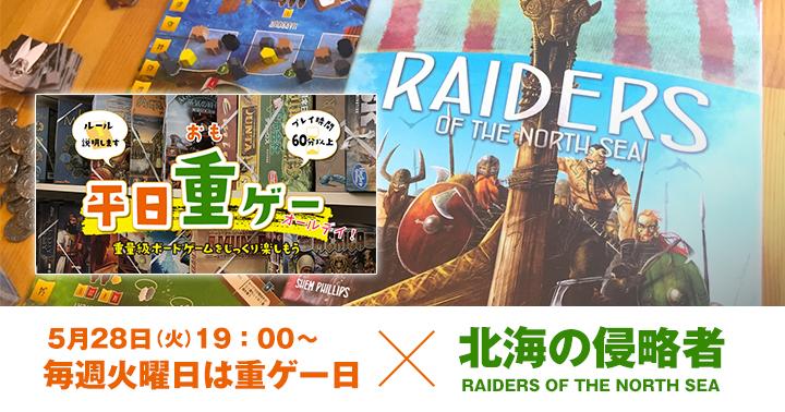 ボードゲーム 北海の侵略者 RAIDERS OF THE NORTH SEA