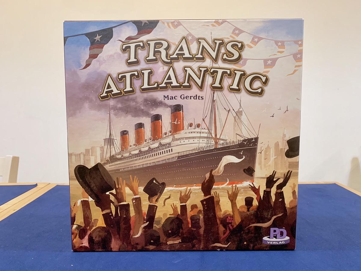 川崎 平日 重量級 ボードゲーム トランスアトランティック Transatlantic
